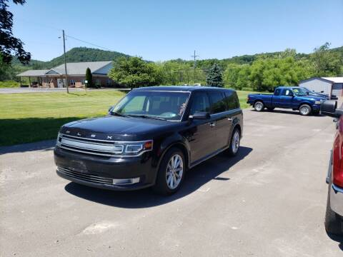 2016 Ford Flex for sale at Greens Auto Mart Inc. in Wysox PA