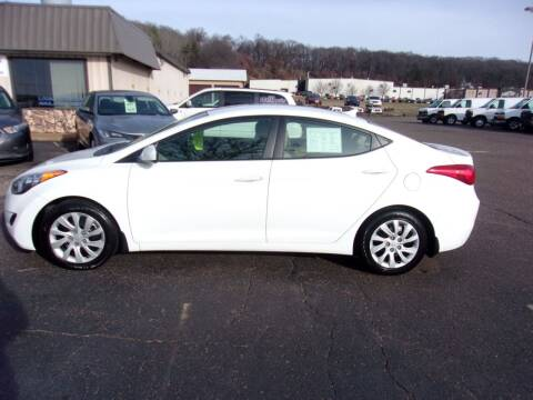 2013 Hyundai Elantra for sale at Welkes Auto Sales & Service in Eau Claire WI