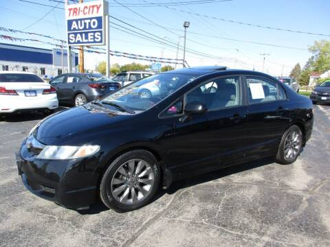 2009 Honda Civic for sale at TRI CITY AUTO SALES LLC in Menasha WI