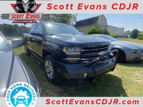 2018 Chevrolet Silverado 1500 for sale at SCOTT EVANS CHRYSLER DODGE in Carrollton GA
