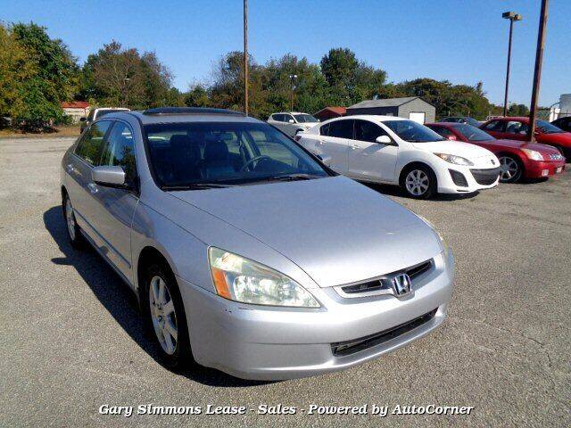 2005 Honda Accord for sale at Gary Simmons Lease - Sales in Mckenzie TN