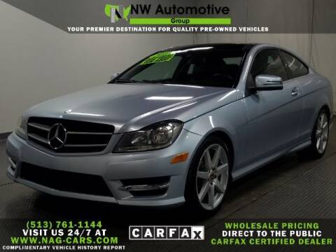 2013 Mercedes-Benz C-Class for sale at NW Automotive Group in Cincinnati OH