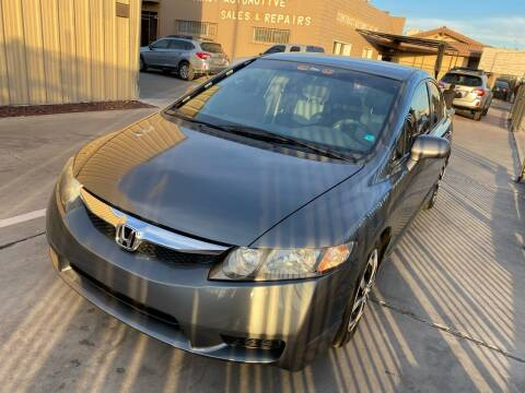 2011 Honda Civic for sale at CONTRACT AUTOMOTIVE in Las Vegas NV