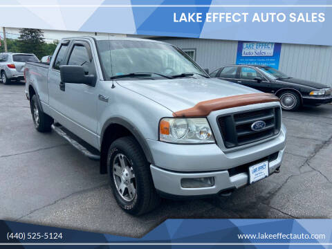 2005 Ford F-150 for sale at Lake Effect Auto Sales in Chardon OH
