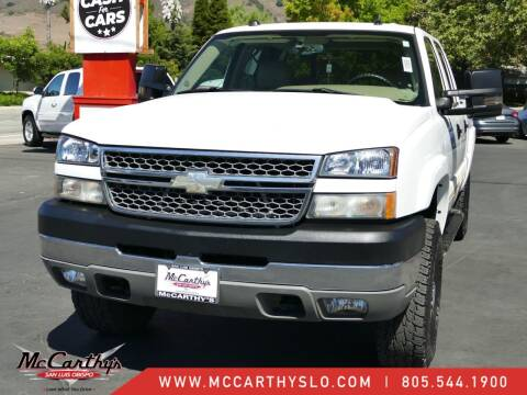 2005 Chevrolet Silverado 2500HD for sale at McCarthy Wholesale in San Luis Obispo CA