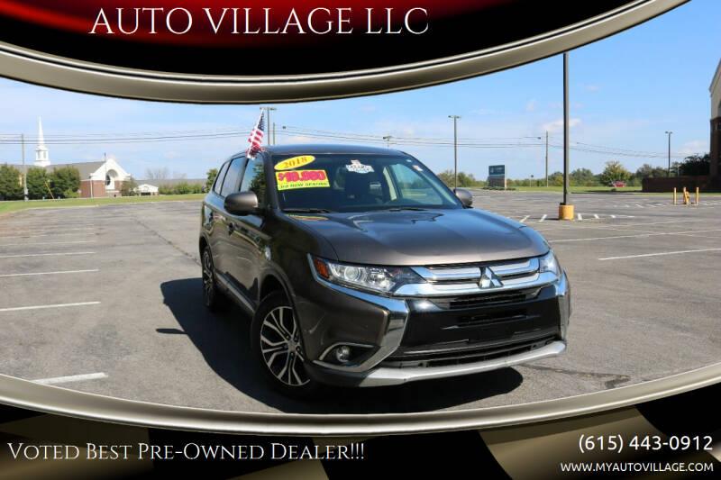2018 Mitsubishi Outlander for sale at AUTO VILLAGE LLC in Lebanon TN