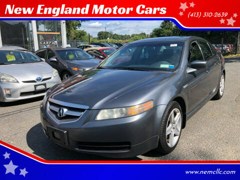 2004 Acura TL for sale at New England Motor Cars in Springfield MA