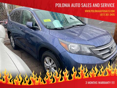 2013 Honda CR-V for sale at Polonia Auto Sales and Service in Hyde Park MA