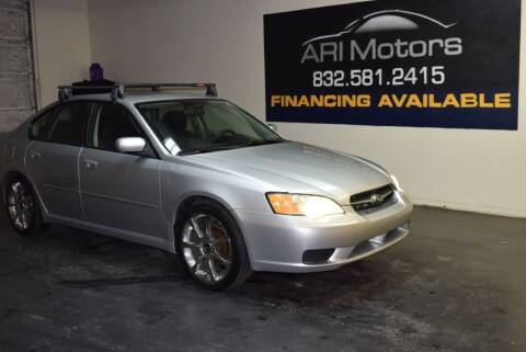 2007 Subaru Legacy for sale at ARI Motors in Houston TX