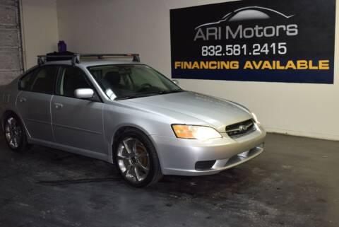 2007 Subaru Legacy for sale at ARI Motors in Houston TX