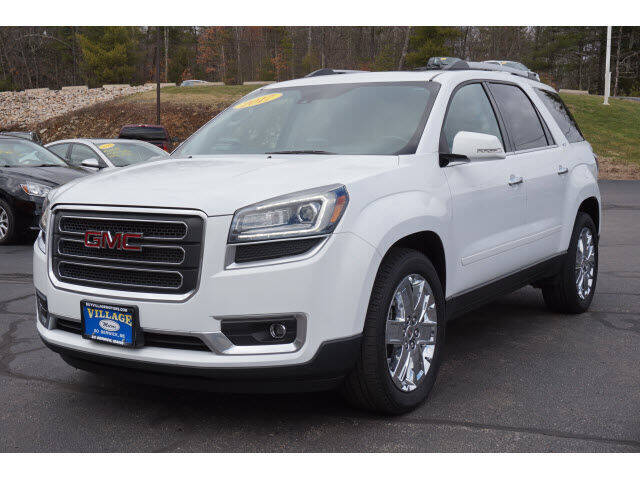 2017 GMC Acadia Limited for sale at VILLAGE MOTORS in South Berwick ME