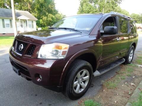 2015 Nissan Armada for sale at Liberty Motors in Chesapeake VA