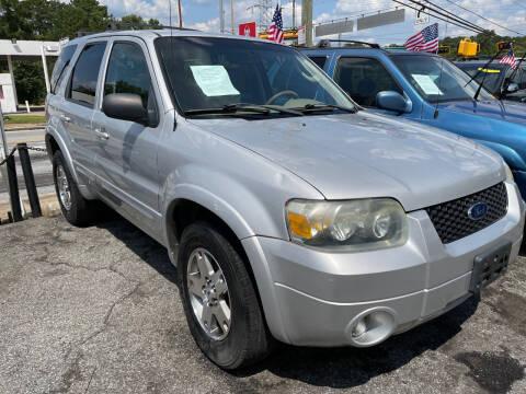 2005 Ford Escape for sale at TEAM AUTO SALES in Atlanta GA