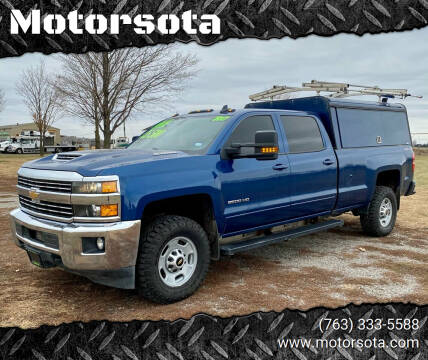 2017 Chevrolet Silverado 2500HD for sale at Motorsota in Becker MN