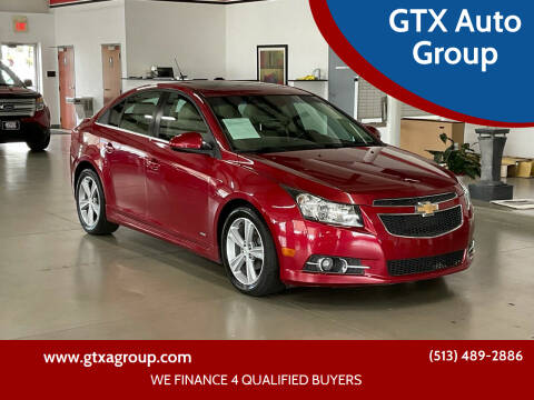 2012 Chevrolet Cruze for sale at GTX Auto Group in West Chester OH
