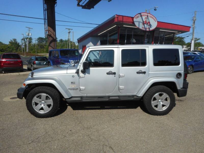 2012 Jeep Wrangler Unlimited for sale at The Carriage Company in Lancaster OH
