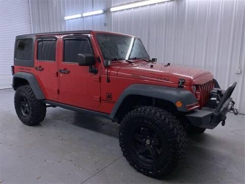 2014 Jeep Wrangler Unlimited for sale at JOE BULLARD USED CARS in Mobile AL