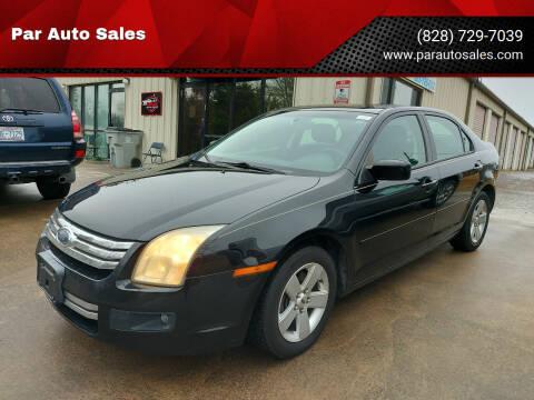 2006 Ford Fusion for sale at Par Auto Sales in Lenoir NC