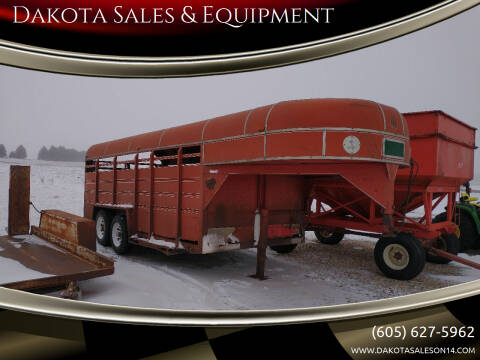 1981 Kiefer Built Inc SMG16 for sale at Dakota Sales & Equipment in Arlington SD