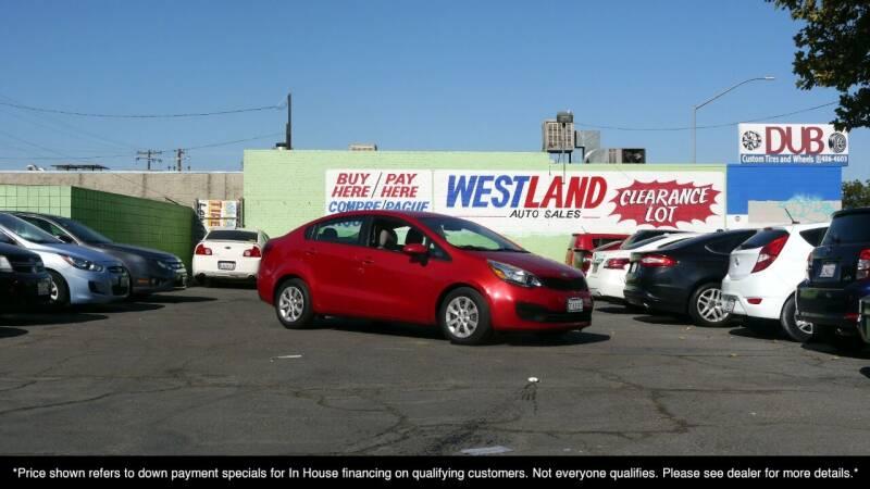 2014 Kia Rio for sale at Westland Auto Sales in Fresno CA
