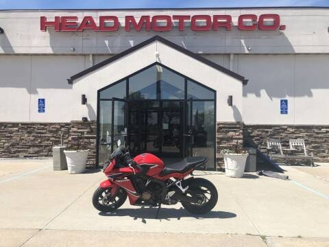 2018 Honda CB650F for sale at Head Motor Company - Head Indian Motorcycle in Columbia MO