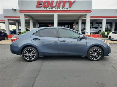 2014 Toyota Corolla for sale at EQUITY AUTO CENTER in Phoenix AZ