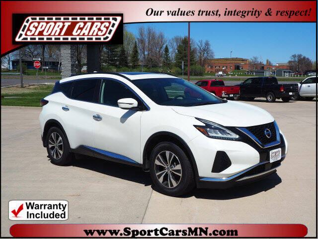 2019 Nissan Murano for sale at SPORT CARS in Norwood MN