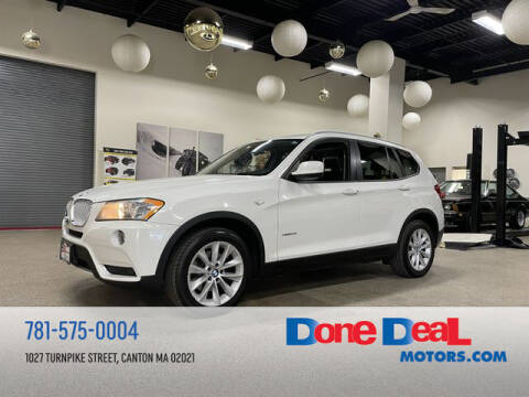 2014 BMW X3 for sale at DONE DEAL MOTORS in Canton MA