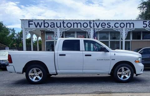 2012 RAM Ram Pickup 1500 for sale at Auto Motives, LLC in Fort Walton Beach FL