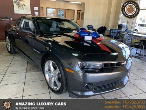 2015 Chevrolet Camaro for sale at Amazing Luxury Cars in Snellville GA
