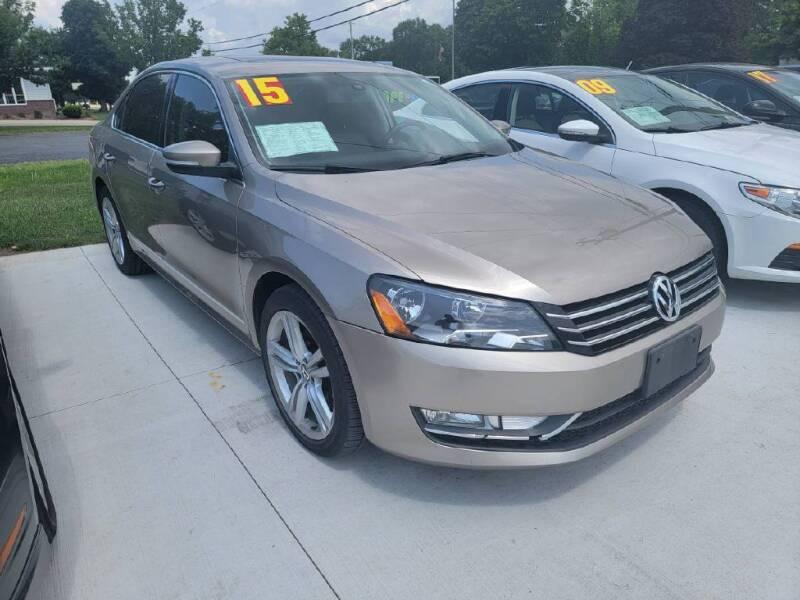 2015 Volkswagen Passat for sale at Bowar & Son Auto LLC in Janesville WI