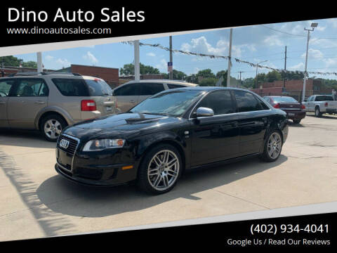 2008 Audi S4 for sale at Dino Auto Sales in Omaha NE