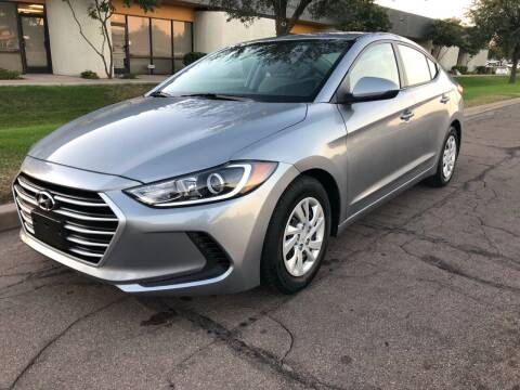 2017 Hyundai Elantra for sale at AKOI Motors in Tempe AZ