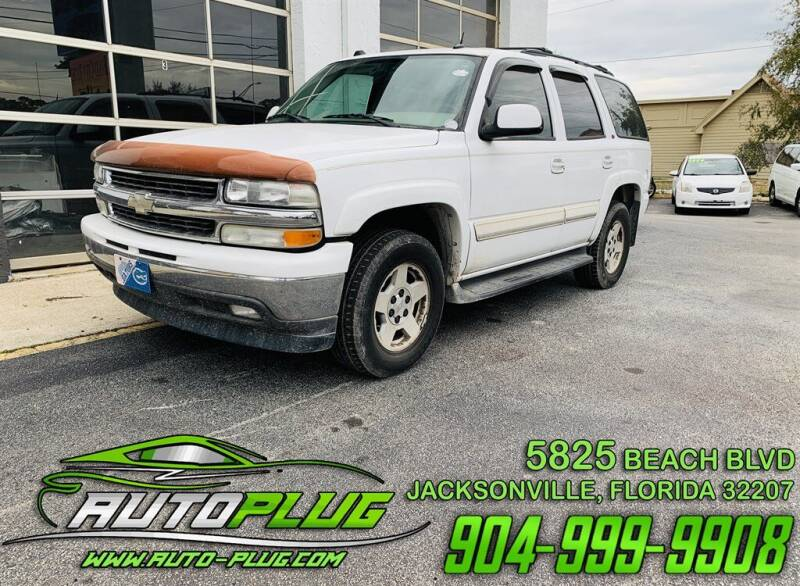 2005 Chevrolet Tahoe for sale at AUTO PLUG in Jacksonville FL