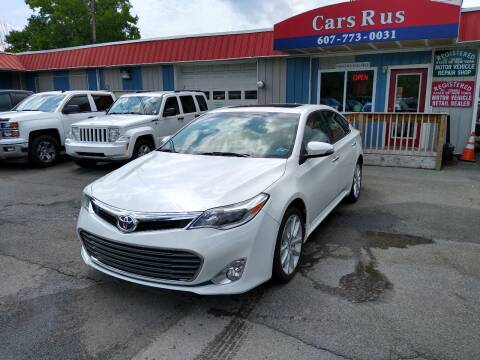 2014 Toyota Avalon for sale at Cars R Us in Binghamton NY