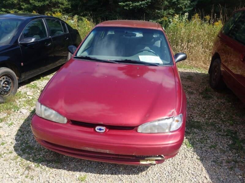 2001 Chevrolet Prizm for sale at Craig Auto Sales in Omro WI