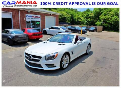 2015 Mercedes-Benz SL-Class for sale at CARMANIA LLC in Chesapeake VA