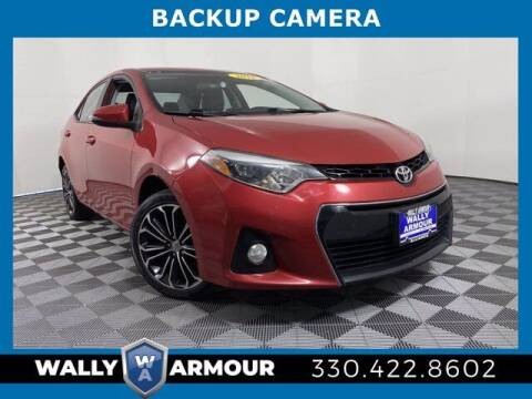 2015 Toyota Corolla for sale at Wally Armour Chrysler Dodge Jeep Ram in Alliance OH