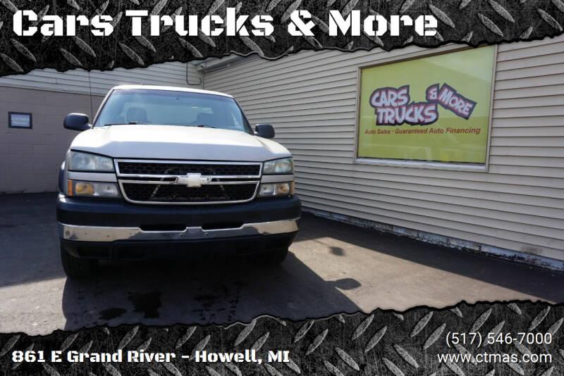 2006 Chevrolet Silverado 2500HD for sale at Cars Trucks & More in Howell MI