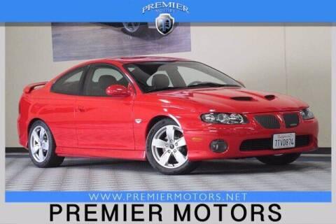 2005 Pontiac GTO for sale at Premier Motors in Hayward CA