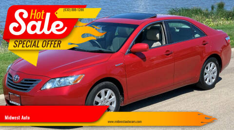 2009 Toyota Camry Hybrid for sale at Midwest Auto in Naperville IL