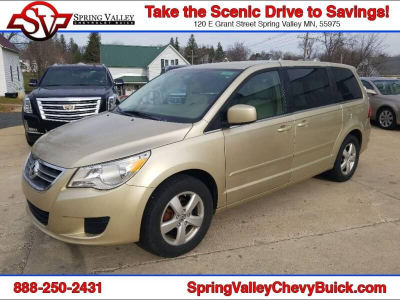 2010 Volkswagen Routan for sale at Spring Valley Chevrolet Buick in Spring Valley MN