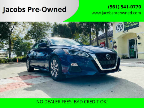 2019 Nissan Altima for sale at Jacobs Pre-Owned in Lake Worth FL