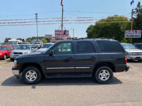 2005 Chevrolet Tahoe for sale at Affordable 4 All Auto Sales in Elk River MN