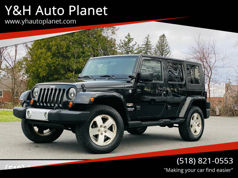 2008 Jeep Wrangler Unlimited for sale at Y&H Auto Planet in West Sand Lake NY