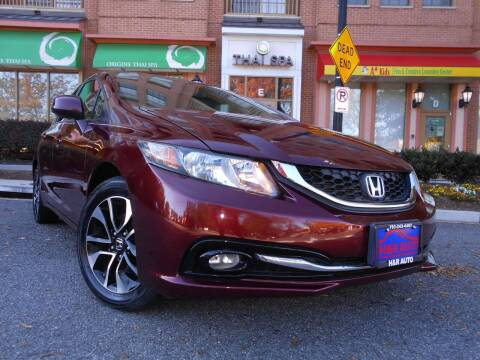 2013 Honda Civic for sale at H & R Auto in Arlington VA