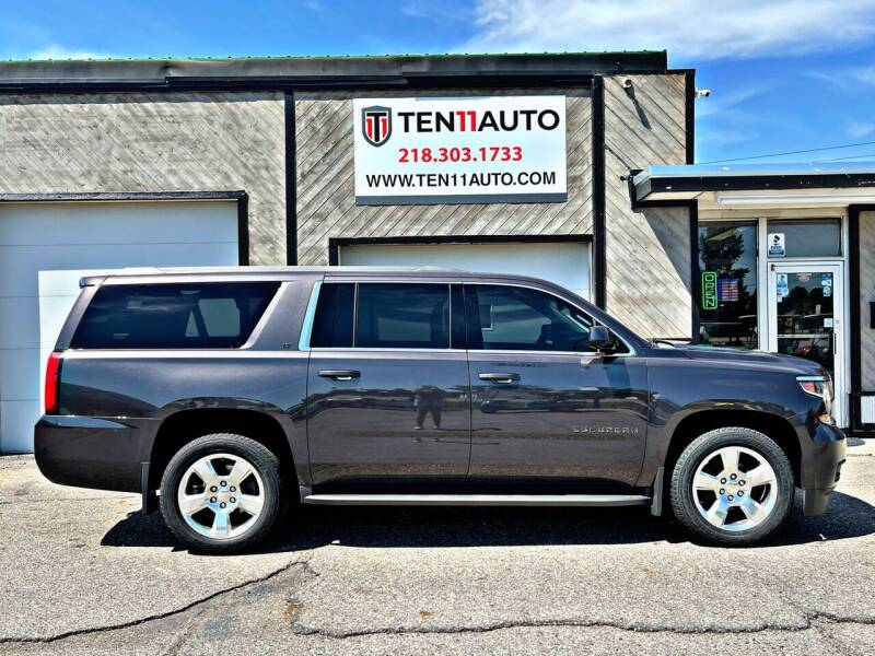 2016 Chevrolet Suburban for sale at Ten 11 Auto LLC in Dilworth MN
