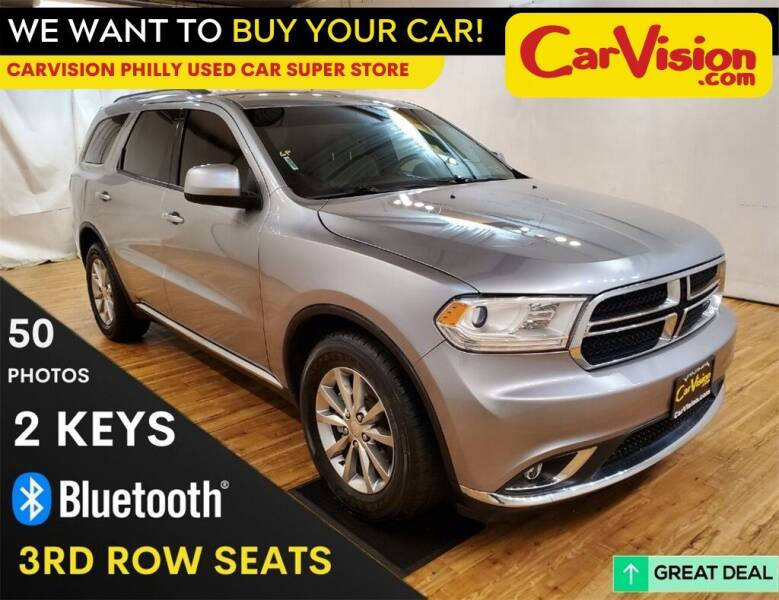 2016 Dodge Durango for sale at Car Vision Mitsubishi Norristown - Car Vision Philly Used Car SuperStore in Philadelphia PA