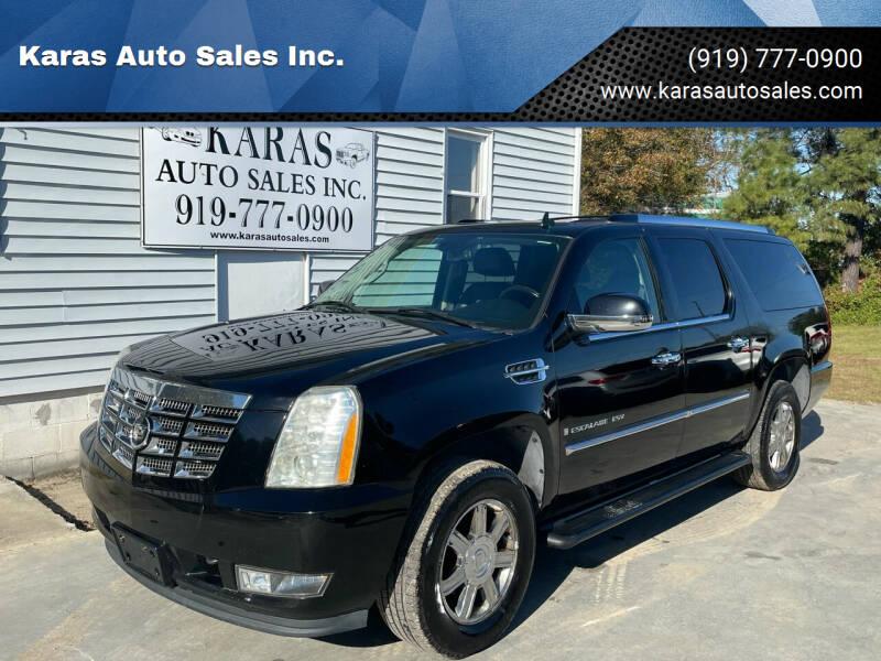 2007 Cadillac Escalade ESV for sale at Karas Auto Sales Inc. in Sanford NC