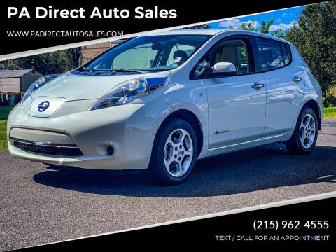 2011 Nissan LEAF for sale at PA Direct Auto Sales in Levittown PA